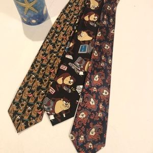 Other - Scooby Mickey Taz all three ties so cute